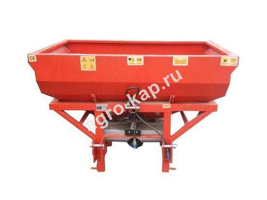 Разбрасыватель удобрений навесной Gencler 1000 литров