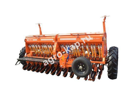 Сеялка зерновая СЗФ 4000-V (вариатор, загортач)