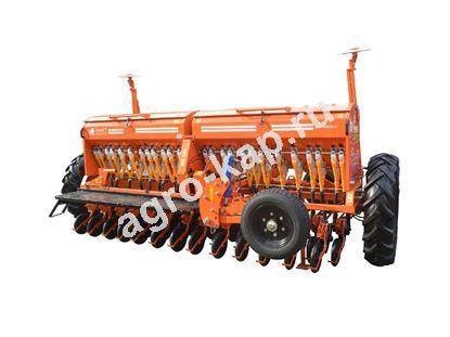 Сеялка зерновая СЗФ 4000-V (вариатор, загортач, прикатывающие катки, маркера)