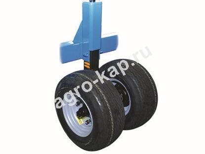 Колесо опорное сдвоенное КБМ-10,8П, КБМ-14,4П в сборе со стойкой